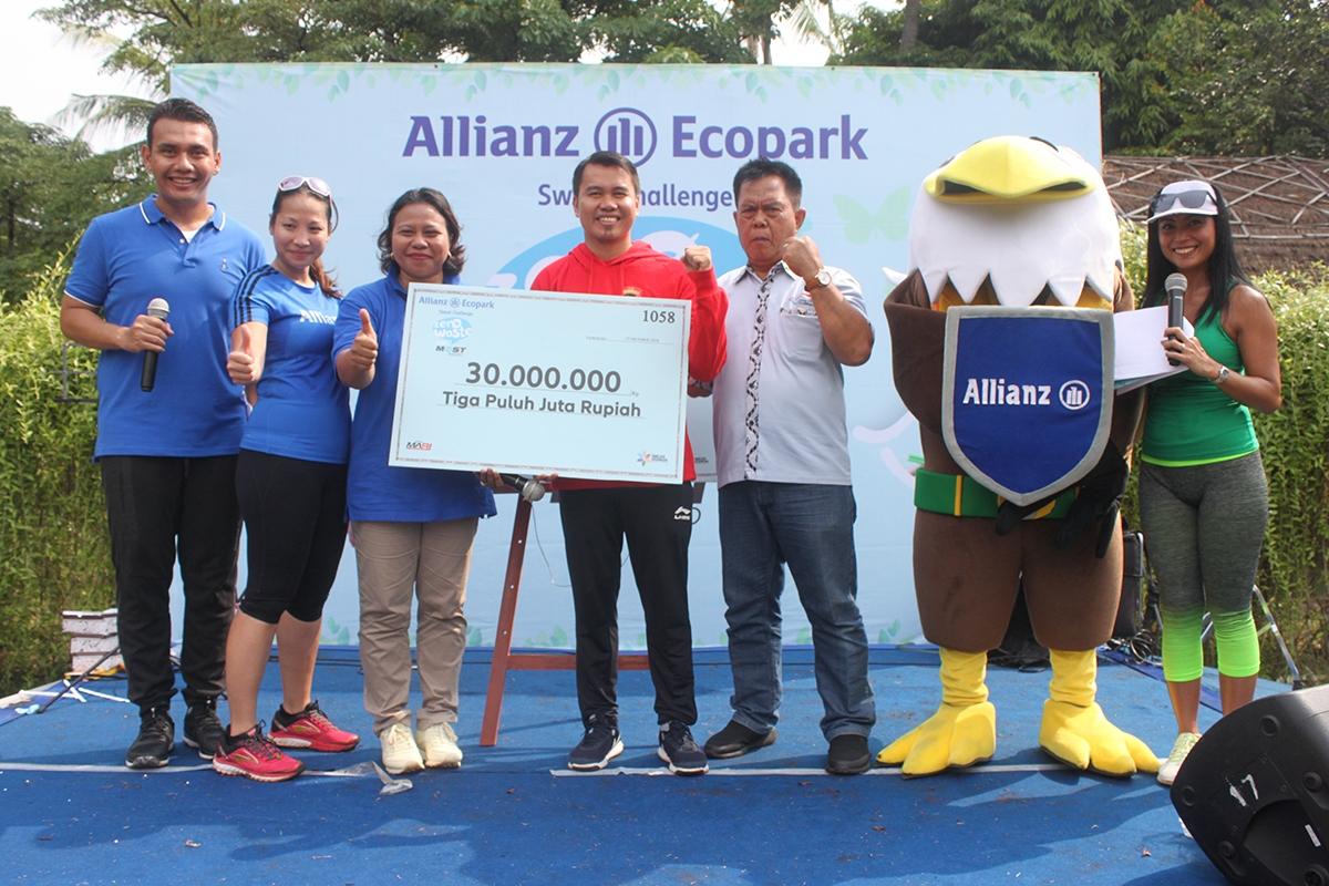 Allianz Sweat Challenge Zero Waste