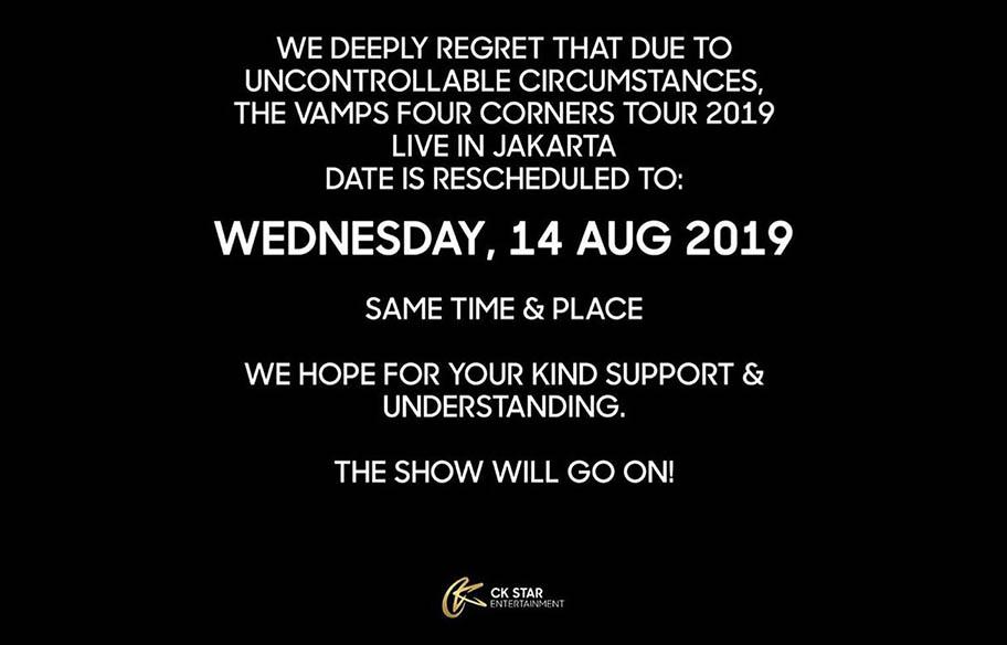 konser The Vamps