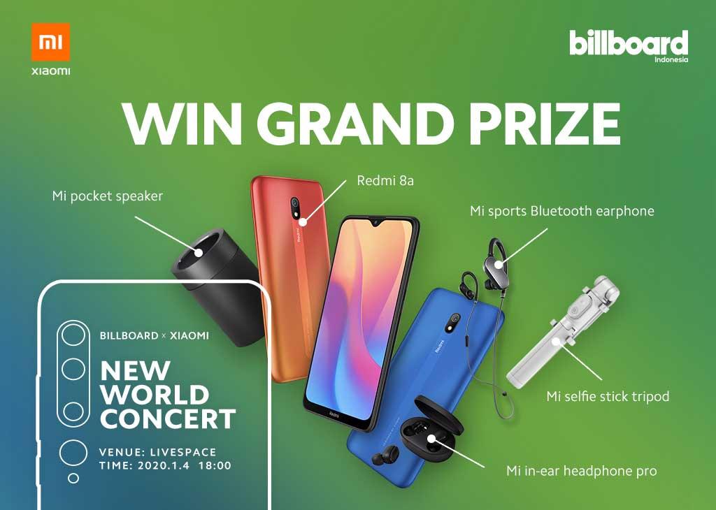 """Xiaomi X Billboard """"New World Concert"""" Mi Fans"""