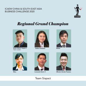 Tim Sixpact Juarai China and South-East Business Challenge 2020