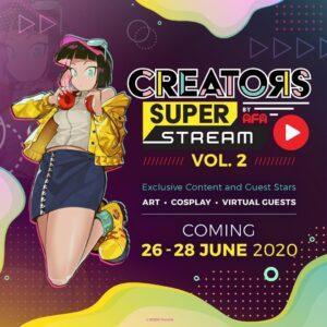 Creators Super Stream CSS Vol.2